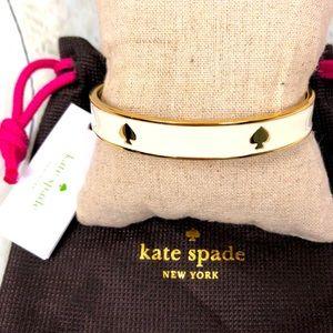 NWT Kate Spade Gold and Enamel Bracelet